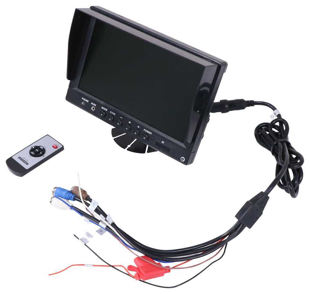 Accessories and Parts RVS-6139N - Camera Monitors - Rear View Safety Inc