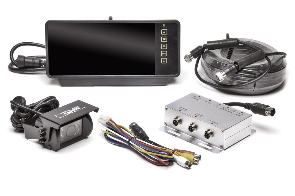 RVS-770619N-D - Hardwired Rear View Safety Inc Backup Camera Systems