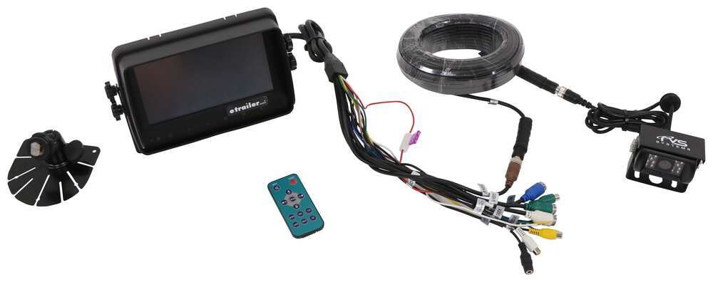 Backup Camera RVS-7709900Q - Standard Camera System - Rear View Safety Inc
