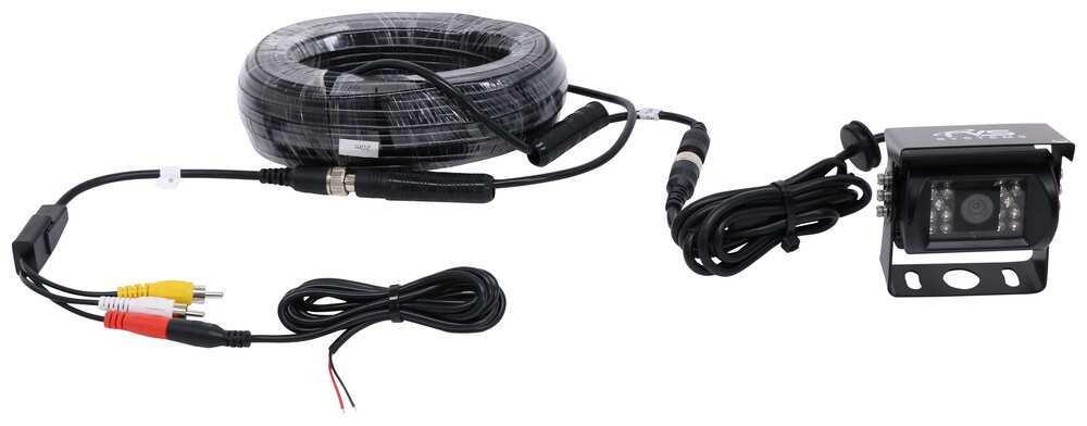 Rear View Safety Backup Camera - Weatherproof - Night Vision - RCA Connectors Backup Camera RVS-771