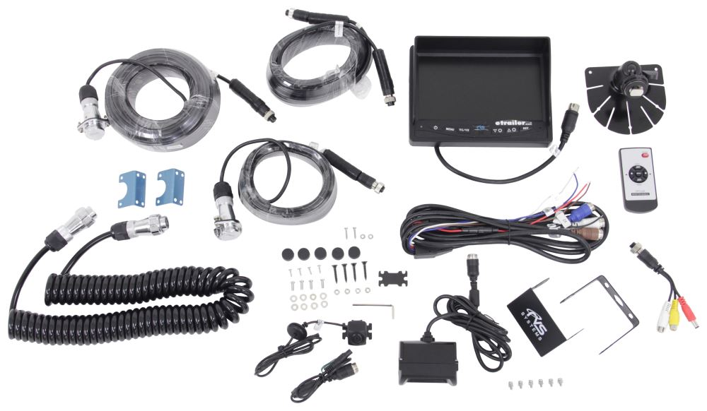 RVS-776614-213 - Dash Monitor Rear View Safety Inc Trailer Camera Systems