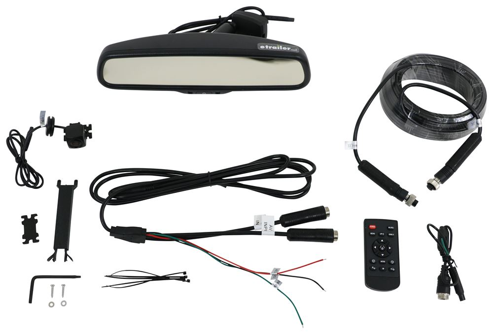 Rear View Safety G-Series Backup Camera System - Auto Dimming Hardwired RVS-776718-D