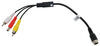 rear view safety inc accessories and parts backup camera adapter cord rvs-rca5-am