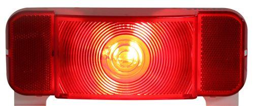 Lens for RVSTL60 Tail light Trailer RV Camper Brake Optronics AST60B Red Repl