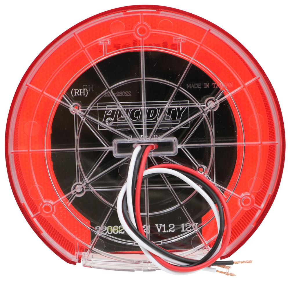Low Profile Led Combination Rv Tail Light