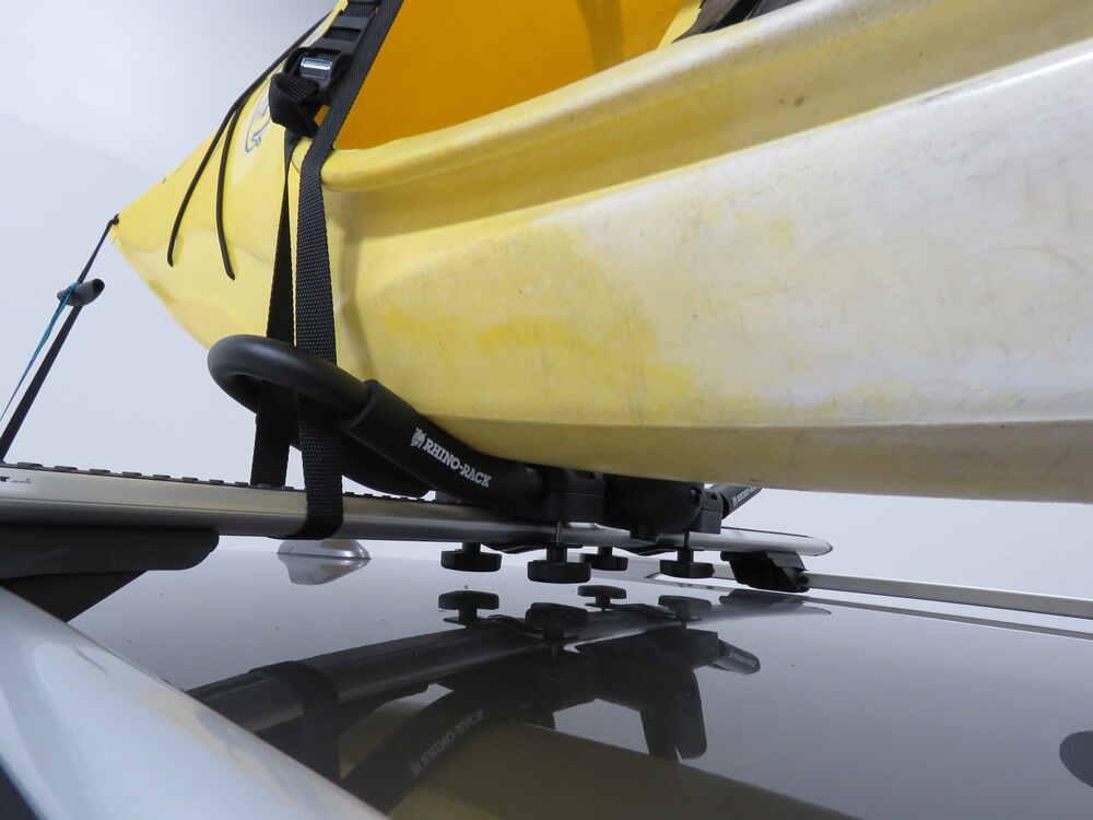 2019 Jeep Cherokee Rhino-Rack 2 Kayak Carrier w/ Tie-Downs ...