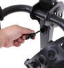 swagman rv and camper bike racks hanging rack hitch titan 2 for 1-1/4 inch hitches - tilting