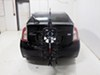 2013 toyota prius hitch bike racks swagman hanging rack fits 1-1/4 inch 2 and titan 4 for hitches - tilting