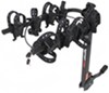 swagman hitch bike racks hanging rack fits 1-1/4 inch 2 and titan 4 for hitches - tilting