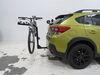 2021 subaru crosstrek hitch bike racks swagman fixed rack 4 bikes on a vehicle