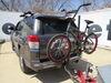 0  hitch bike racks swagman towing rack fold-up 2 bikes on a vehicle