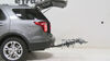 2014 ford explorer hitch bike racks swagman fold-up rack 4 bikes on a vehicle