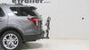 2014 ford explorer hitch bike racks swagman platform rack fits 2 inch on a vehicle