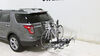 2014 ford explorer hitch bike racks swagman fold-up rack fits 2 inch s64665