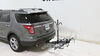 """Swagman XTC4 4-Bike Rack for 2"""" Hitches - Platform Style Bike and Hitch Lock S64665 on 2014 Ford Explorer"""