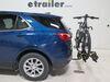 2021 chevrolet equinox hitch bike racks swagman tilt-away rack fold-up 2 bikes s64678