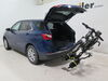 2021 chevrolet equinox hitch bike racks swagman tilt-away rack fold-up 2 bikes on a vehicle