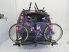 0  hitch bike racks swagman tilt-away rack fold-up 2 bikes s64678