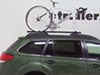 Swagman Fork Down Roof Mounted Bike Carrier - Fork Mount Locks Not Included S64710 on 2011 Subaru Outback Wagon