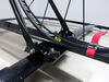 2007 toyota rav4 roof bike racks swagman frame mount clamp on - standard upright rack for 1 crossbars
