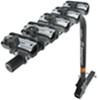 swagman hitch bike racks 5 bikes fits 2 inch xp - folding rack for trailer hitches