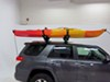 0  watersport carriers swagman kayak canoe roof mount carrier exo aero rooftop system with tie-downs - saddle style universal