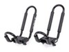 Swagman Contour Rooftop Kayak Carrier System with Tie-Downs - Fixed Arms - J-Style - Universal Mount No Load Assist S65148