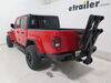 2020 jeep gladiator hitch bike racks saris tilt-away rack fold-up 2 bikes sa4032