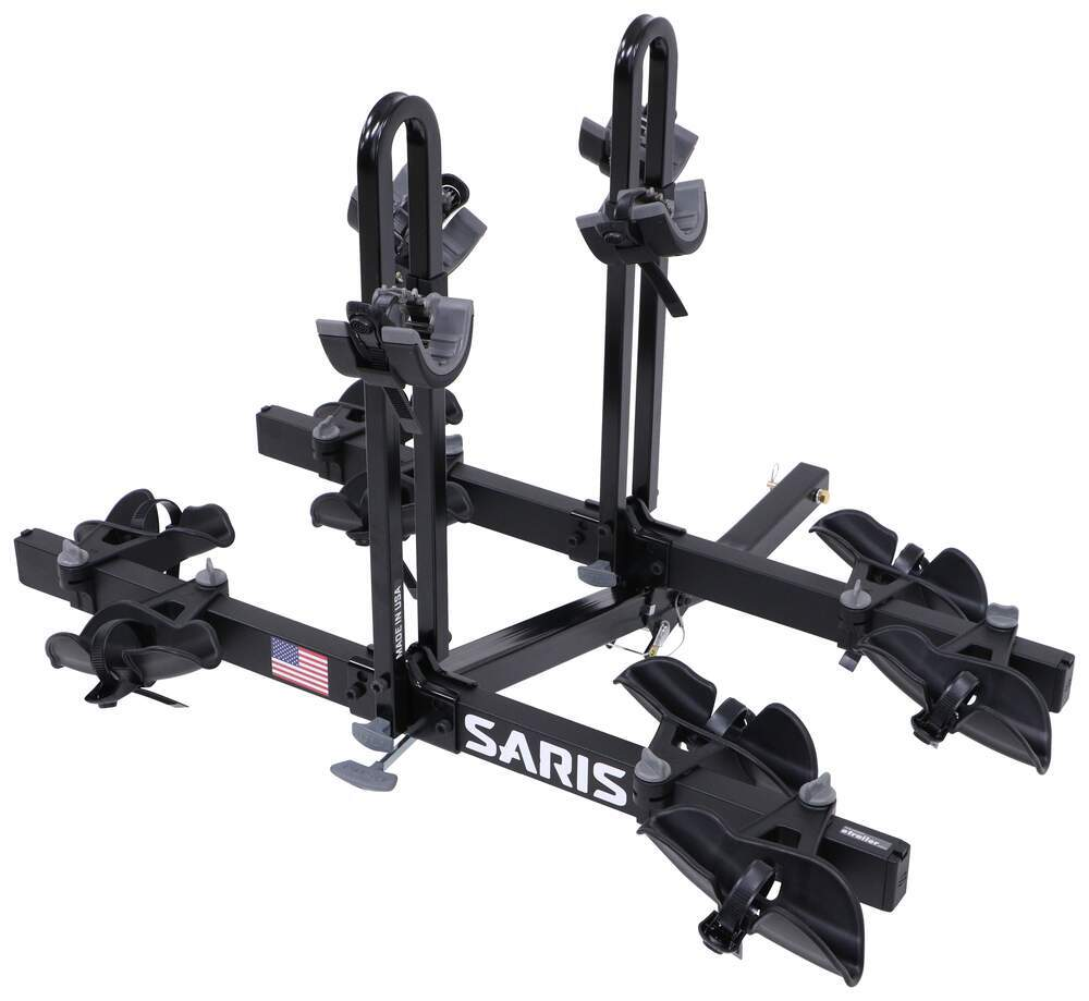 "Saris Freedom 4 Bike Platform Rack - 2"" Hitches - Frame Mount - Tilting Locks Not Included SA4414B"