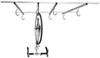 Bike Storage SA6020 - Ceiling Mounted Rack - Saris