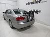 Saris Bones EX 3 Bike Rack - Trunk Mount - Adjustable Arms Hanging Rack SA803 on 2014 Volkswagen Passat