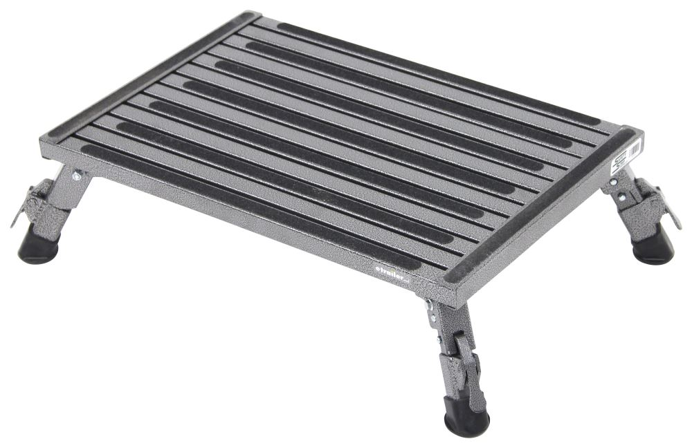 SASXLA-09C-G - Ground Contact Safety Step RV and Camper Steps