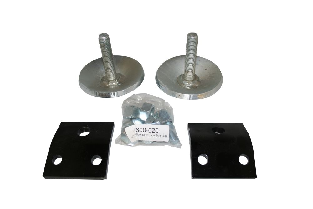 Replacement Skid Shoes for SnowBear Winter Wolf, Proshovel, and Personal Snowplows - Qty 2 Shoe Parts SB600-019