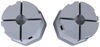 Stromberg Carlson Base Pad Extreme for RVs and Trailers - 6,000 lbs - Qty 2 2 Jack Pads SC28VR