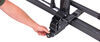 kuat hitch bike racks platform rack tilt-away fold-up sherpa 2.0 for 2 bikes - inch hitches wheel mount gray