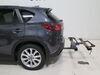 2016 mazda cx-5 hitch bike racks kuat tilt-away rack fold-up 2 bikes on a vehicle