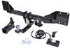 stealth hitches trailer hitch custom fit hidden receiver w/ towing kit - 2 inch
