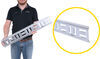 snap-loc e-track rails horizontal and vertical - galvanized steel 2 000 lbs 32 inch long