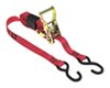 snap-loc ratchet straps 6 - 10 feet long 0 1 inch wide tie-down strap w/ wrapper and s-hooks x 8' 833 lbs