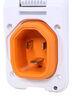 smartplug rv power inlets 30 amp male plug square sm57fr
