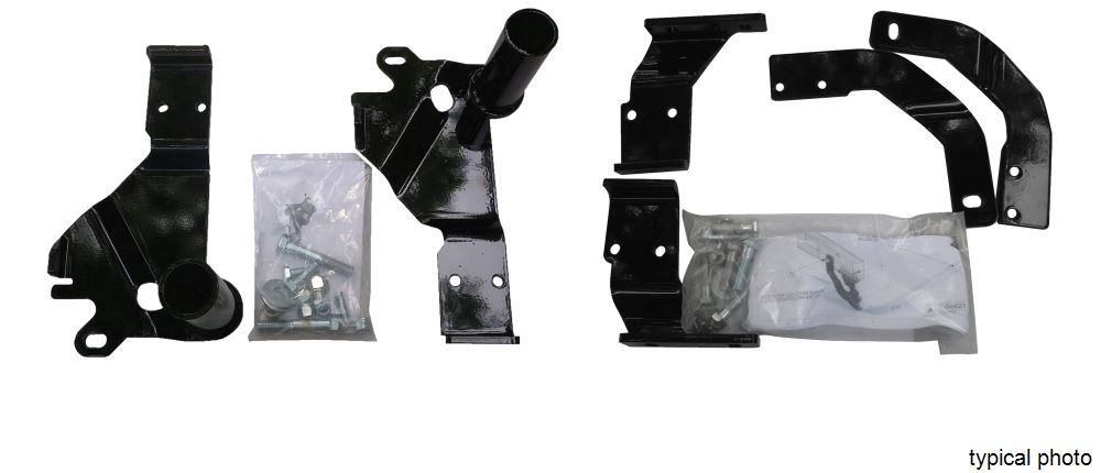 Custom Mounting Bracket Kit for SnowBear Hydraulic and Winter Wolf Snowplows SB397-001