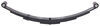 "4-Leaf Double-Eye Spring for 4,000-lb Trailer Axles - 26"" Long Leaf Springs SP-051275"
