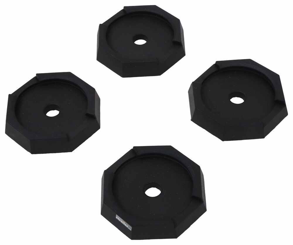 """SnapPad Jack Pads for Class A and C Motorhomes w/ 8"""" Round Jack Feet - Qty 4 8 Inch Jack Foot SP34FR4"""