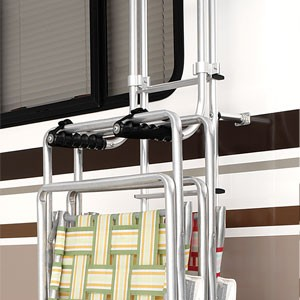 Surco Lawn Chair Rack for Vans and RVs - Ladder Mount SP501CR