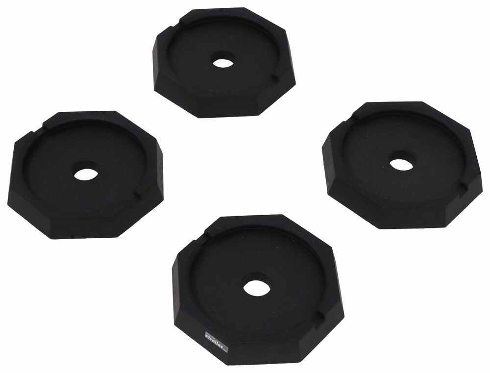 """SnapPad Jack Pads for Class A and C Motorhomes w/ 10"""" Round Jack Feet - Qty 4 Foot Pads SP64FR4"""