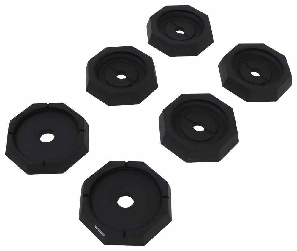 """SnapPad Jack Pads for Luxe Augusta 5th Wheel Campers w/ 10"""" Octagon and 12"""" Round Feet Octagon Foot,Round Foot SP74FR84"""