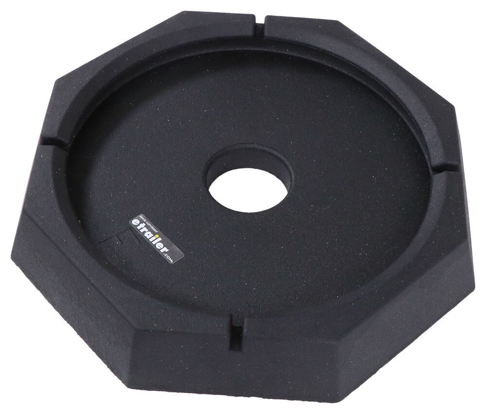 """Replacement Pad for SnapPad Jack Stand Pad System - 11-1/2"""" or 12"""" Round Jack Foot Foot Pads SP74FR"""