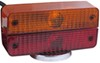custer agricultural lights driver and passenger side flasher/turn signal/tail light/brake light split lens magnetic towing or tail