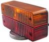 custer agricultural lights faces backward only flasher/turn signal/tail light/brake light spl30b-6