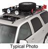 "Surco Safari Rack 5.0 Rooftop Cargo Basket for Yakima Roof Racks - 60"" Long x 45"" Wide Round Bars SPS4560-Y400"